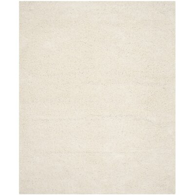 Kourtney White Area Rug Rug Size: 8 x 10
