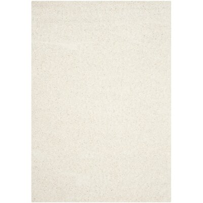 Kourtney White Area Rug Rug Size: 51 x 76