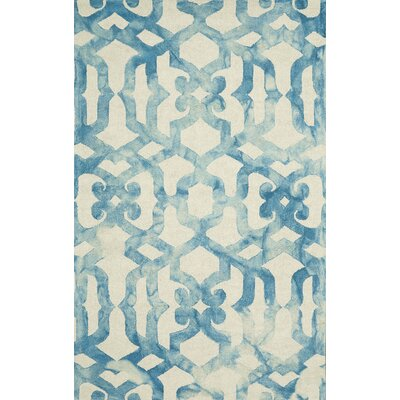 Frederick Hand-Hooked Ocean Area Rug Rug Size: Rectangle 2 x 3