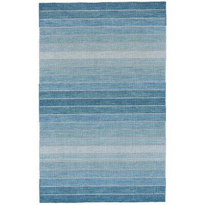 Mcdonald Hand-Tufted Aqua Area Rug Rug Size: Rectangle 9'6
