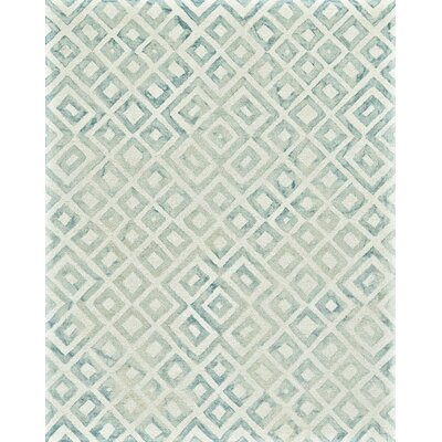 Frederick Hand-Hooked Mariner Area Rug Rug Size: Rectangle 2 x 3