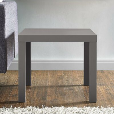 Carissa End Table Color: Gray