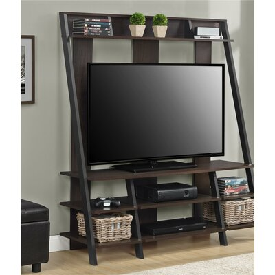 Russel Entertainment Center Color: Dark Brown Espresso