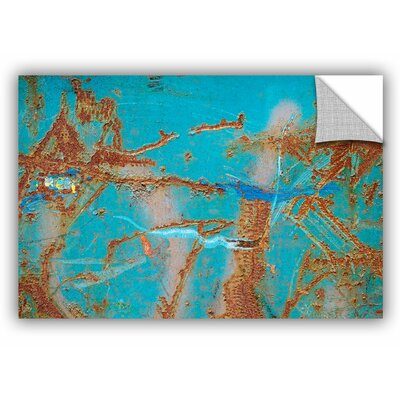 'Rusty Turquoise' Graphic Art Size: 12