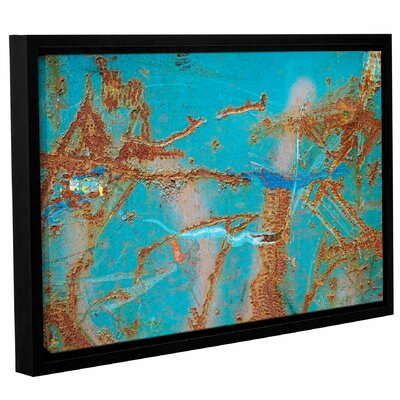 'Rusty Turquoise' Framed Photographic Print Size: 12
