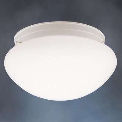 Stevens 2-Light Flush Mount Finish: White