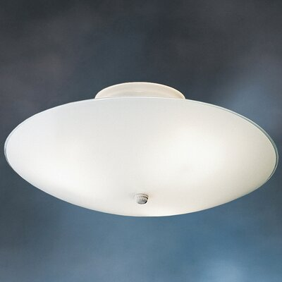 Stevens Round 3-Light Flush Mount (Set of 6)