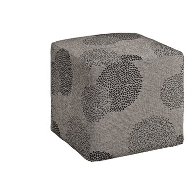 Doris Sunflower Cube Ottoman Upholstery: Bark