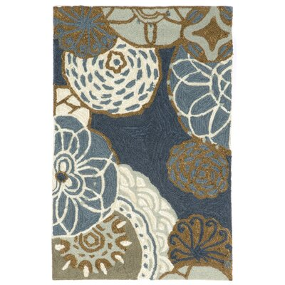Derby Denim Outdoor Rug Rug Size: Rectangle 83 x 116