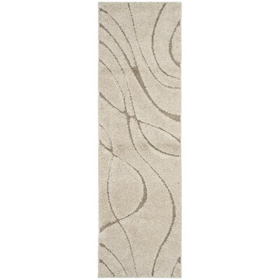 Enrique Cream/Beige Area Rug Rug Size: Rectangle 86 x 12