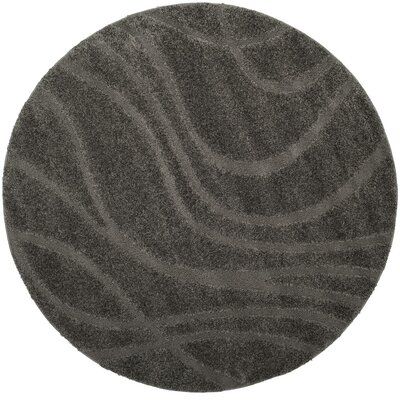 Enrique Gray Area Rug Rug Size: Rectangle 6 x 9