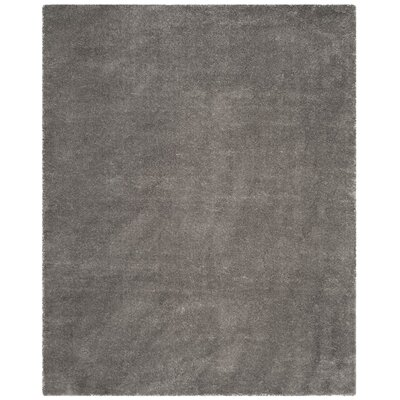 Connor  Gray Area Rug Rug Size: Square 67