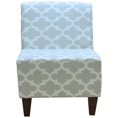 Felicia� Slipper Chair Upholstery: Gray