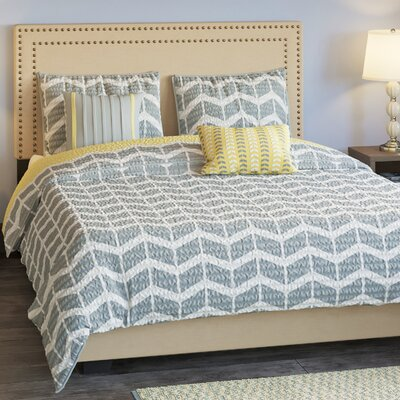 Willard Quilt Set Size: Twin / Twin XL, Color: Yellow