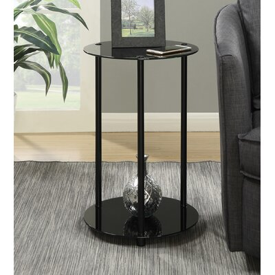 Georgette End Table Color: Black