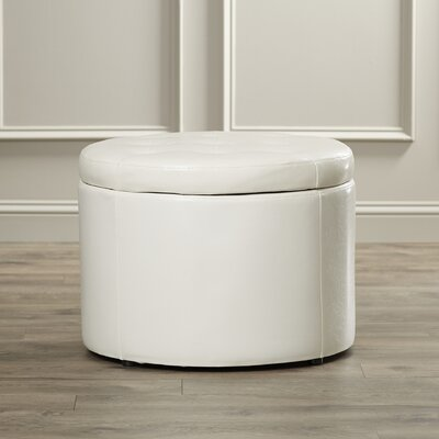Stansell Storage Ottoman Upholstery: Ivory
