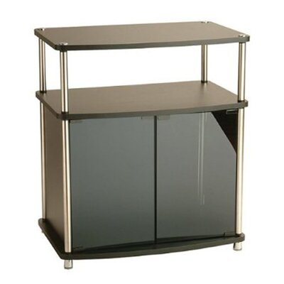 Georgette TV Stand Finish: Black