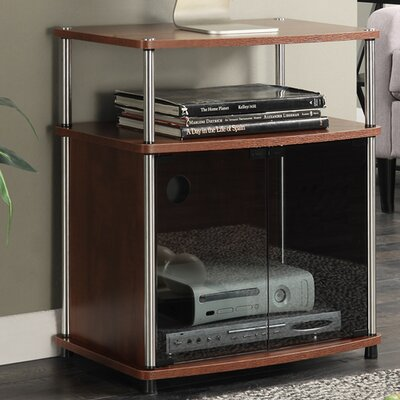 Burke 23.6 TV Stand Color: Cherry