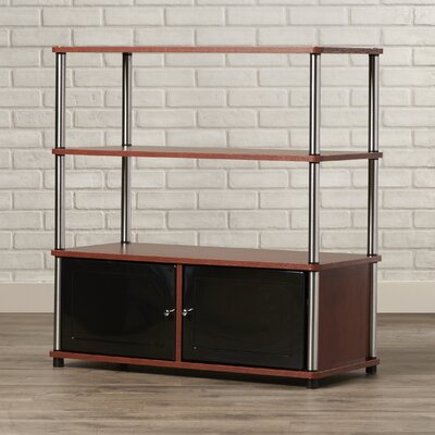 Georgette 35 TV Stand Color: Cherry