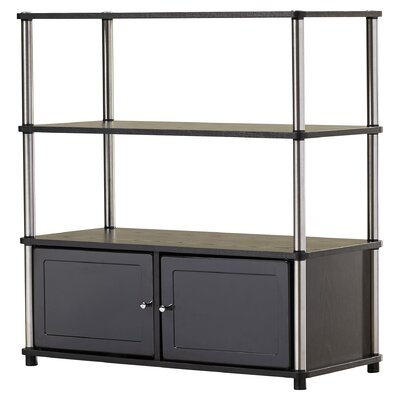Georgette 35 TV Stand Finish: Black