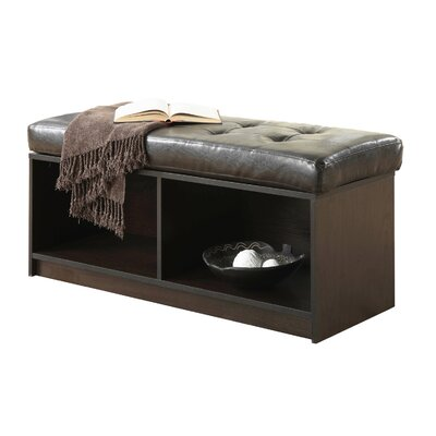 Marla Storage Ottoman Upholstery: Brown