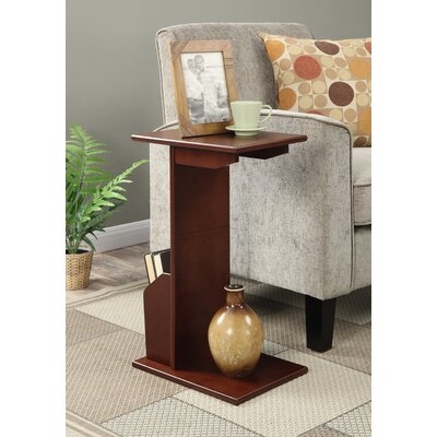 Edwin End Table Color: Mahogany