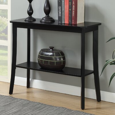 Lockheart Console Table Finish: Black