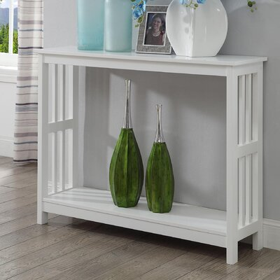 Evelynn Console Table Finish: White