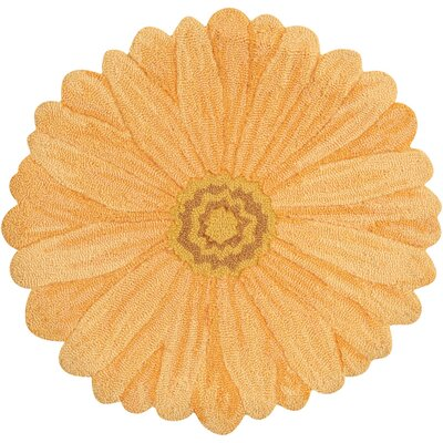 Frieda Hand-Tufted Yellow Area Rug