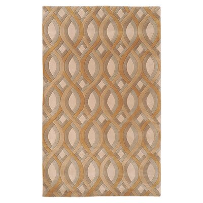 Donovan Beige Rug Rug Size: Rectangle 33 x 53