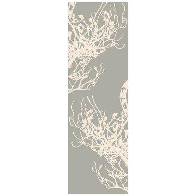Whittemore Gray Rug Rug Size: Runner 26 x 8