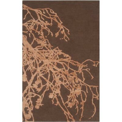Whittemore Dark Chocolate/Adobe Rug Rug Size: 9 x 13