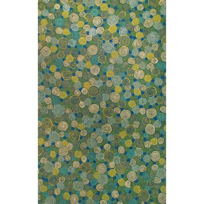 Derek Swirls Indoor/Outdoor Rug Rug Size: Rectangle 8 x 10