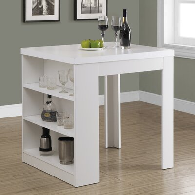 Robin Counter Height Dining Table Finish: White