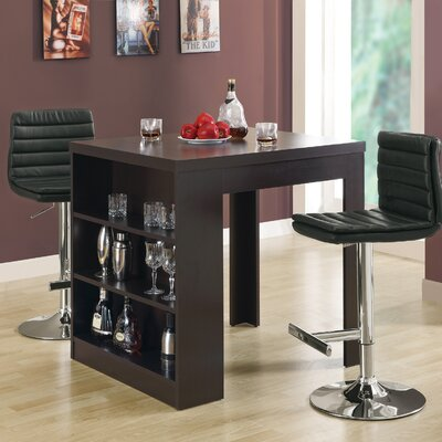 Robin Counter Height Dining Table Finish: Cappuccino