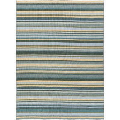 Dixon Hand-Woven Green Area Rug Rug Size: Rectangle 8 x 11