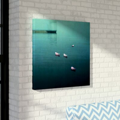 'Floating Hope' Graphic Art on Wrapped Canvas Size: 10