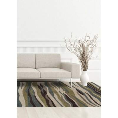 Knapp Blue/Green Area Rug Rug Size: Rectangle 411 x 7