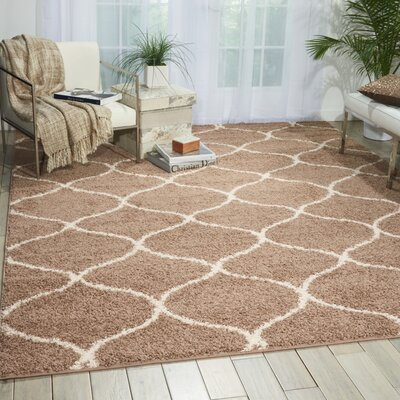 Addison Cappuccino Area Rug Rug Size: Rectangle 32 x 46