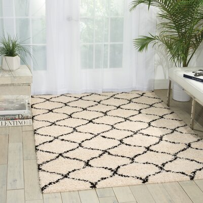 Addison Ivory Area Rug Rug Size: Rectangle 5 x 7