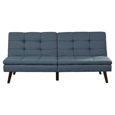 Makenzie Convertible Sofa Upholstery: Blue