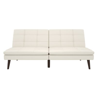 Makenzie Convertible Sofa Upholstery: White