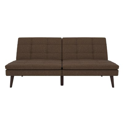Makenzie Convertible Sofa Upholstery: Brown