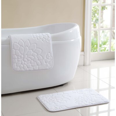 Audra Bath Rug Color: White