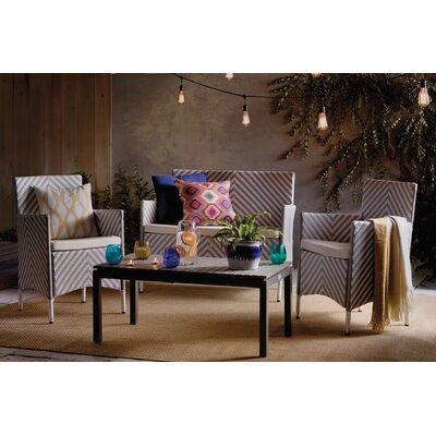 Estella Natural/Cream Indoor/Outdoor Area Rug Rug Size: Square 67