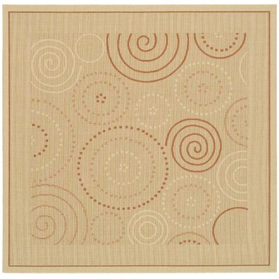 Mullen Transitional Circles Outdoor Rug Rug Size: Square 710