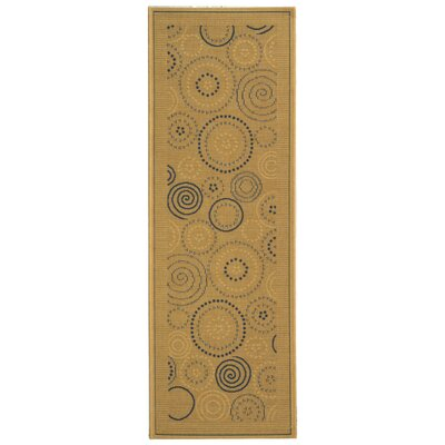 Mullen Circles Outdoor Rug Rug Size: Rectangle 27 x 5