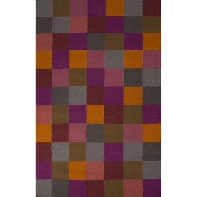 Garvin Wool Flat Weave Area Rug Rug Size: 2 x 3