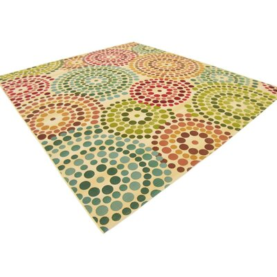 Ronda Beige Indoor/Outdoor Area Rug Rug Size: Rectangle 10 x 12