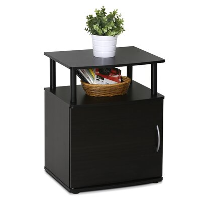 Crow End Table With Storage